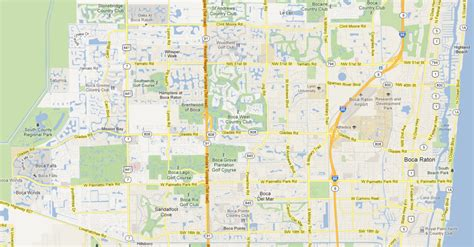 boca raton map west boca west boca news