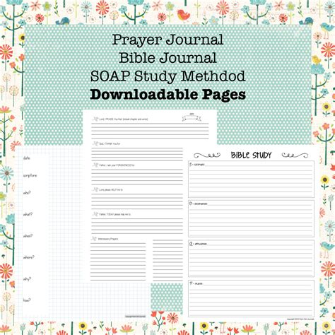 printable bible study journal pages downloadable bible journal prayer journal and soap bible