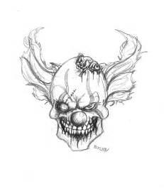 zombie clown by darkmatteria on deviantart