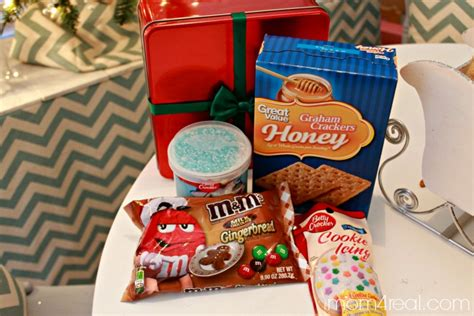walmart gingerbread house kit diy gingerbread house kit free gingerbread people printable gift tags mom 4 real