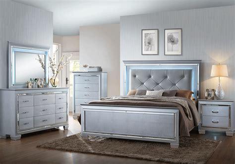 0 bedroom furniture lillian silver queen bedroom set lexington overstock