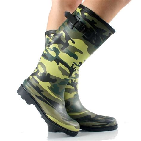 Womens Camo Rubber Boots by Book Of Womens Camouflage Boots Sobatapk