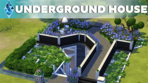 The Sims 4   House Building   Multilevel Undergound House