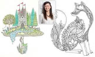 secret garden colouring book dublin johanna basford sells million copies of secret garden