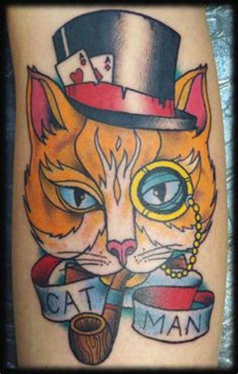 tattoo crazy cat tattoos on pinterest bad tattoos cat tattoos and funny