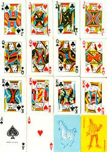 playing cards jack of all trades design