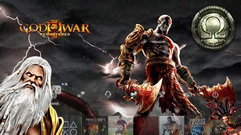 themes ps3 god of war 2 playstation 4 theme spotlight god of war 3 remastered
