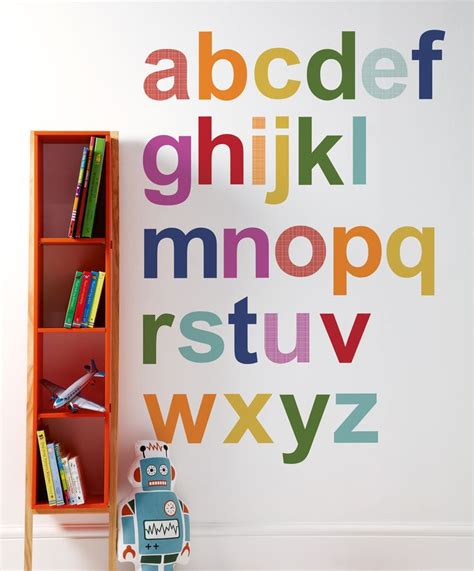Wall Stiker Alphabet 25 best ideas about wall stickers on