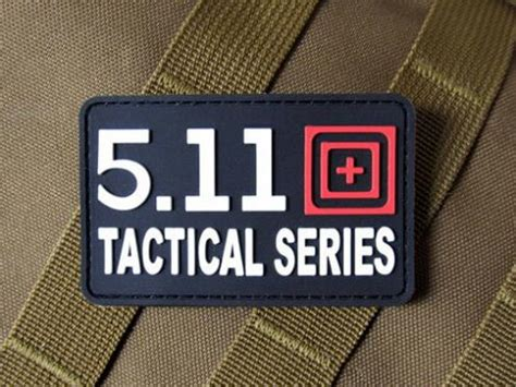 5 11 Tactical Series Rubber 5 11 tactical series pvc badge velcro patches diy