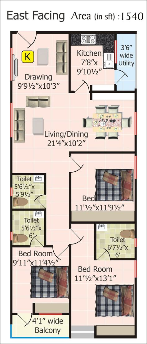 my house plan floor plans for 20 x 60 house plan in 2018
