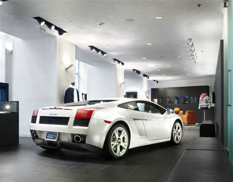 lamborghini gold coast showroom by dmac architecture