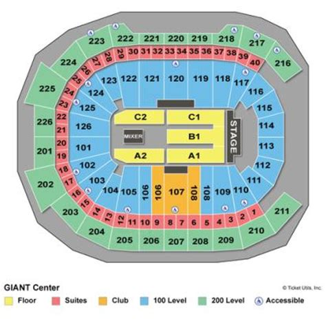 hershey center seating view vipseats center tickets