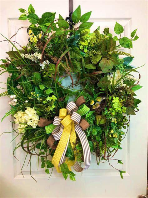 front door wreath wreath   day  door wreath