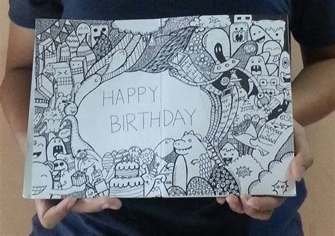 doodle 4 birthdays doodle happy birthday by rachmatarrmdhn on deviantart