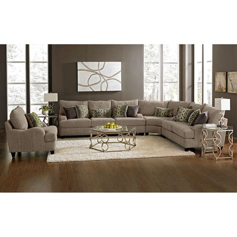 Call Value City Furniture by Hollister Ii 3 Sectional Furniture