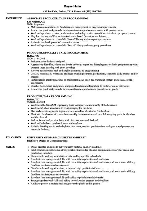 Radio Show Producer Sle Resume by Resume For Clerk In Hospital Biodata Format Application Pdf Major Resume Exle A