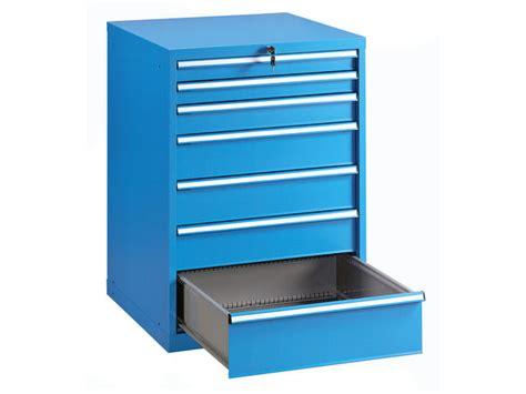 Armoire Atelier Metallique by Armoire 7 Tiroirs Atelier M 233 Tallique Bleu Contact Setam