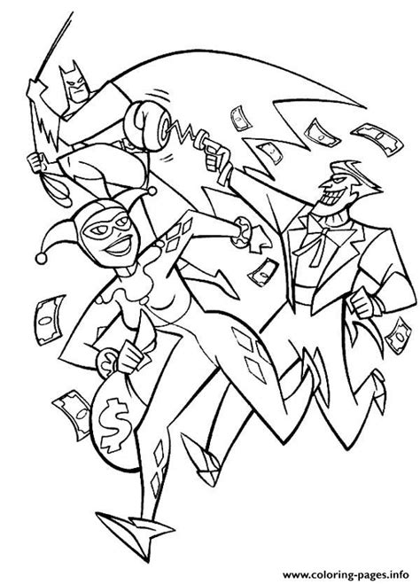 harley quinn joker coloring pages batman joker together harley quinn coloring pages printable