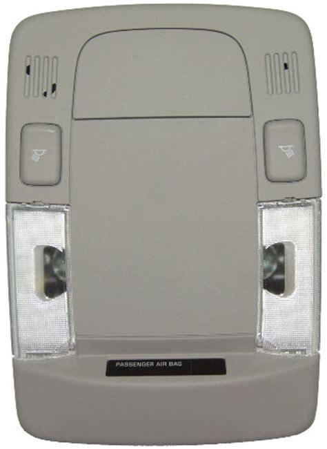 cadillac dts overhead console dome light led option titanium