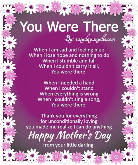 S Day S Day Happy Mothers Day Poems With Images