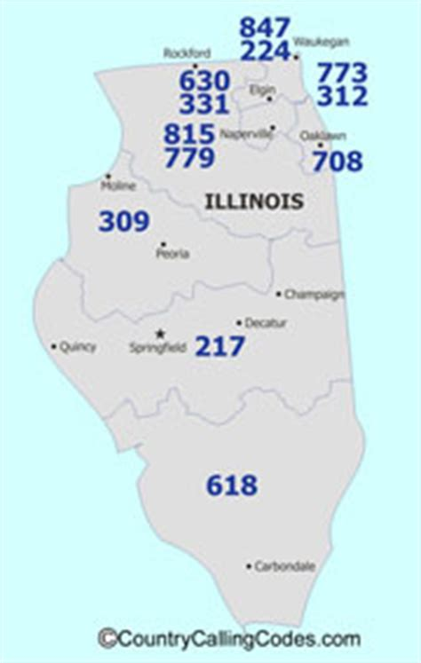 us area code and country code illinois united states area code and illinois united
