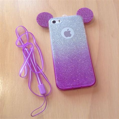 Iphone 5 5s Disney disney mickey mouse ears silicone phone for iphone 5