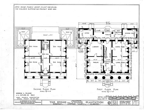historic floor plans historic home plans styles of american architecture in