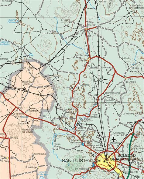 map of mexico zacatecas zacatecas mexico map 12 map of zacatecas mexico 12