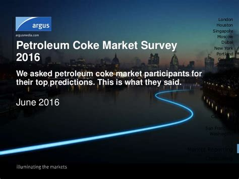 Petroleum Coke Market Predictions 2016