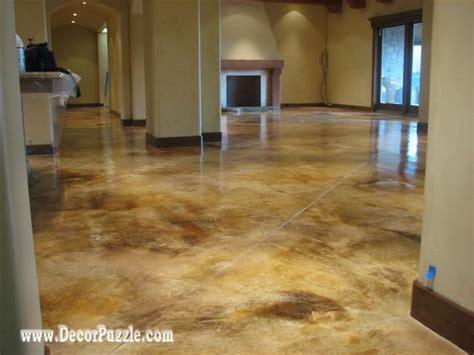 types  painted concrete floors    choose