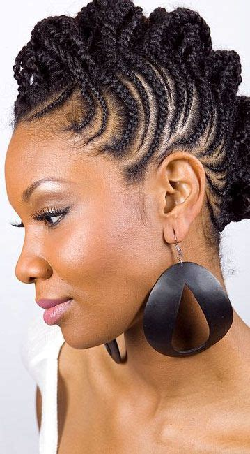 pin up braid styles african american pin by tina gantt on natural hair pinterest