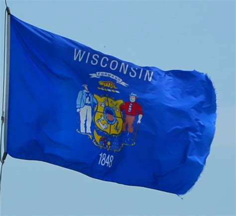 state pictures wisconsin state flag