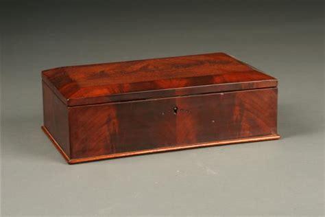 Box Hitam Outdoor Indoor Serbaguna 1285 early 19th century german biedermeier sewing box in cuban mahogany