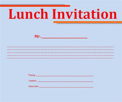 lunch invitation template lunch invitation template 26 free psd pdf documents