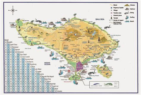 Peta Wisata Bali   agen wisata bali