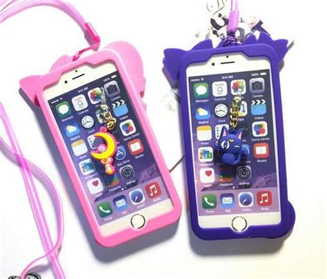 Iphone 6 Plus Soft Moon Free 2pcs Colour Flim 1 pink purple sailor moon iphone 6 iphone 6 plus phone