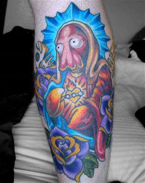big deluxe tattoo utah zoidberg neatorama