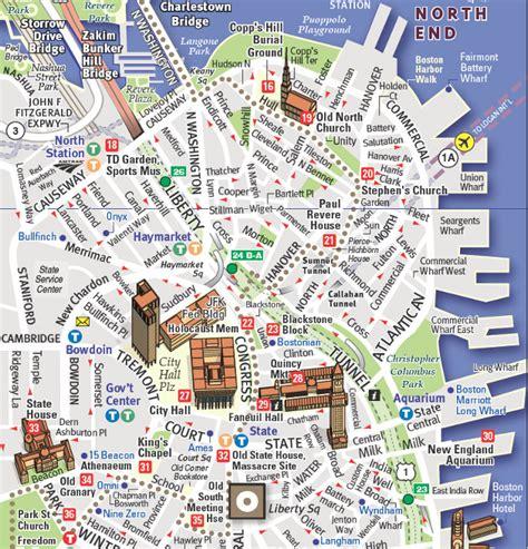 freedom trail boston map boston s freedom trail american revolution