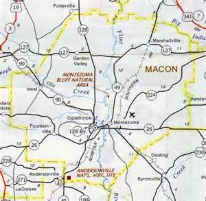 macon county map hotels motels