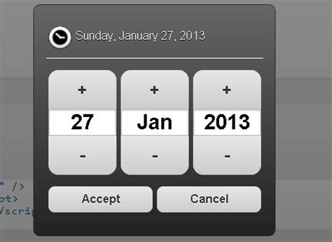 datepicker mobile android style date picker for jquery mobile mobi