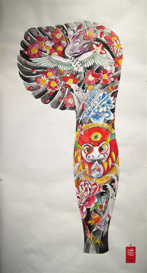 traditional japanese tattoo sleeve designs traditional japanese by keepermilio on deviantart