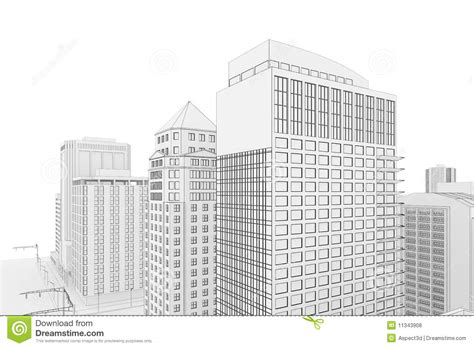 Blueprint House Plans city blueprint royalty free stock photos image 11343908