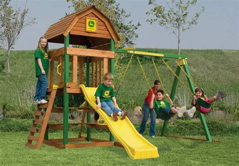 john deere swing set adventure playsets 2007 play sets john deere country barn