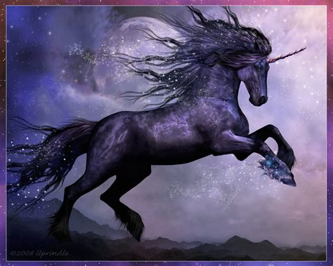 dark unicorn wallpaper writing is easy you just sit down and bleed