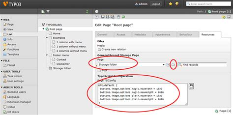 website rooting tutorial the typo3buddy root page basic page structure the