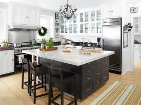 black island kitchen black kitchen island transitional kitchen hgtv