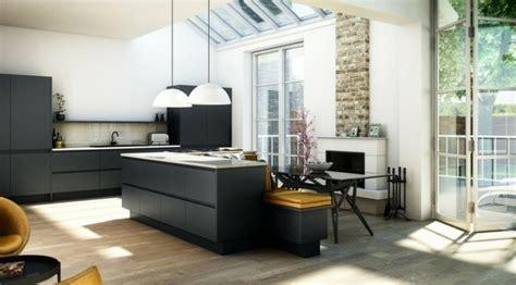 cuisine grise plan de travail blanc cuisine gris anthracite 56 id 233 es pour une cuisine chic