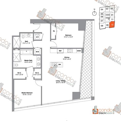 Icon Condo Floor Plan by Icon Brickell Viceroy Unit 4210 Condo For Sale In