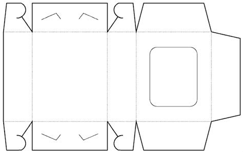 templates of boxes window box free box templates store