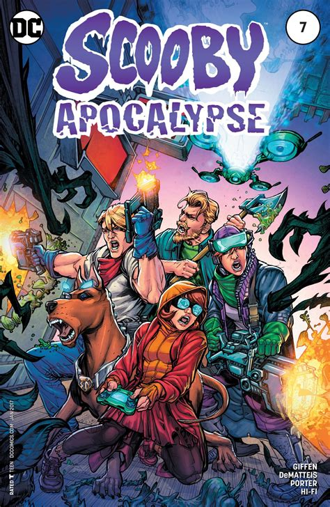 scooby apocalypse vol 1 scooby apocalypse vol 1 7 dc database fandom powered